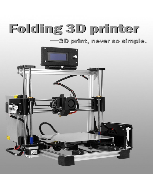 MaxMicron Foldbot-Folding type 3D Printer DIY KIT