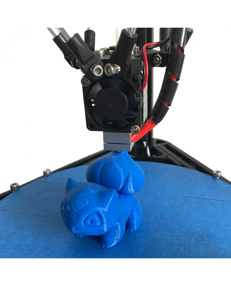 support multi material filament He3D K200 single head delta DIY 3d printer kit autolevel with heat bed