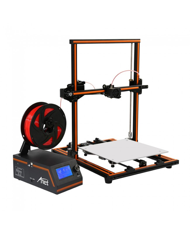 Anet E12 Large 3D Printer Aluminum Frame High precision DIY 3D Printer (Kit)