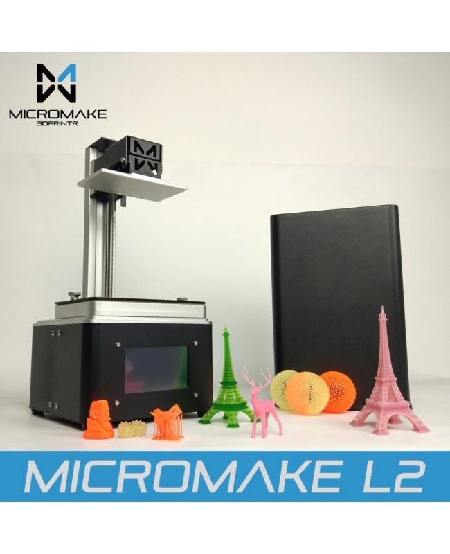 Micromake L2 UV SLA Resin 3D Printer, 2K Resolution