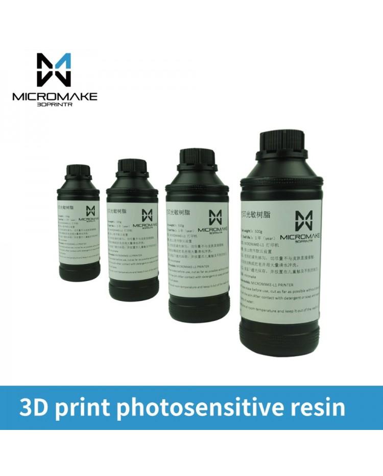 Micromake Universal Water Washable UV Resin for DLP/SLA