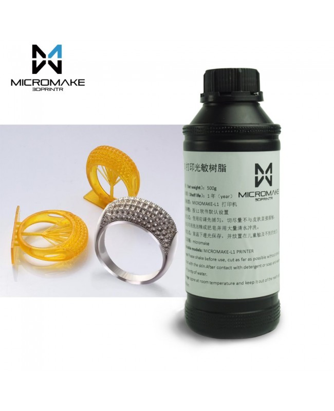 Micromake Universal Water Washable UV Resin