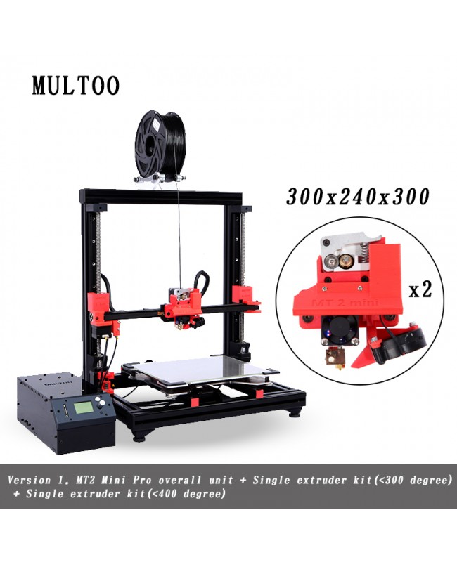 Multoo MT2 Mini Large 3D Printer