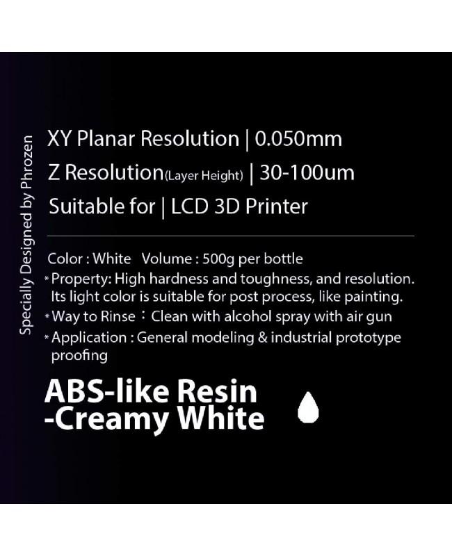 Phrozen ABS like Creamy White, 500g