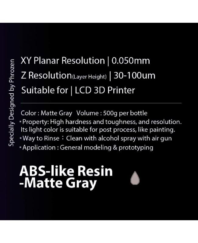 Phrozen ABS like Matte Gray, 500g