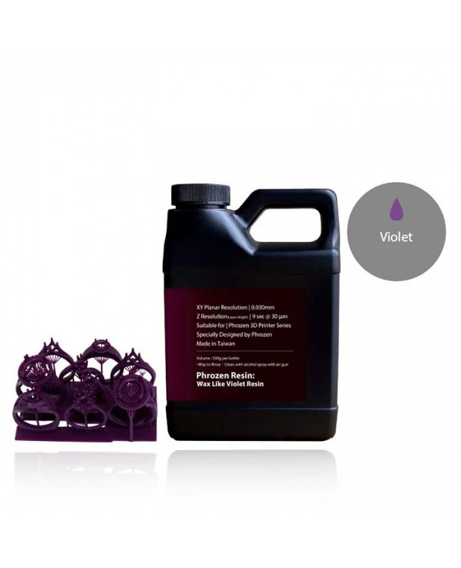 Phrozen Wax-Like Castable Resin, Violet