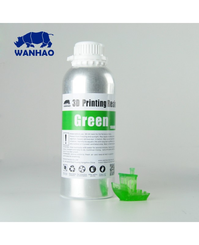 WANHAO UV CURE 3D PRINTER RESIN 1L (1000ML)