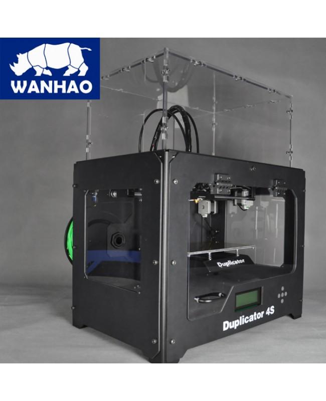 Wanhao Duplicator 4S Black Steel Exoframe